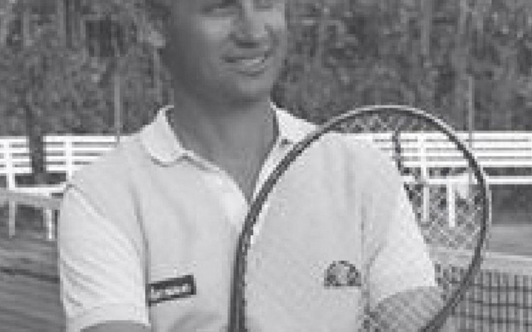 Dante Marcarelli, il Maestro del Tennis Club Perugia
