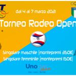 Torneo Rodeo Open MF 4 7 marzo 2021 copertina 1