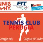 Tennis Trophy FIT Kinder Joy of Moving 2021 Under 13 14 15 16 copertina