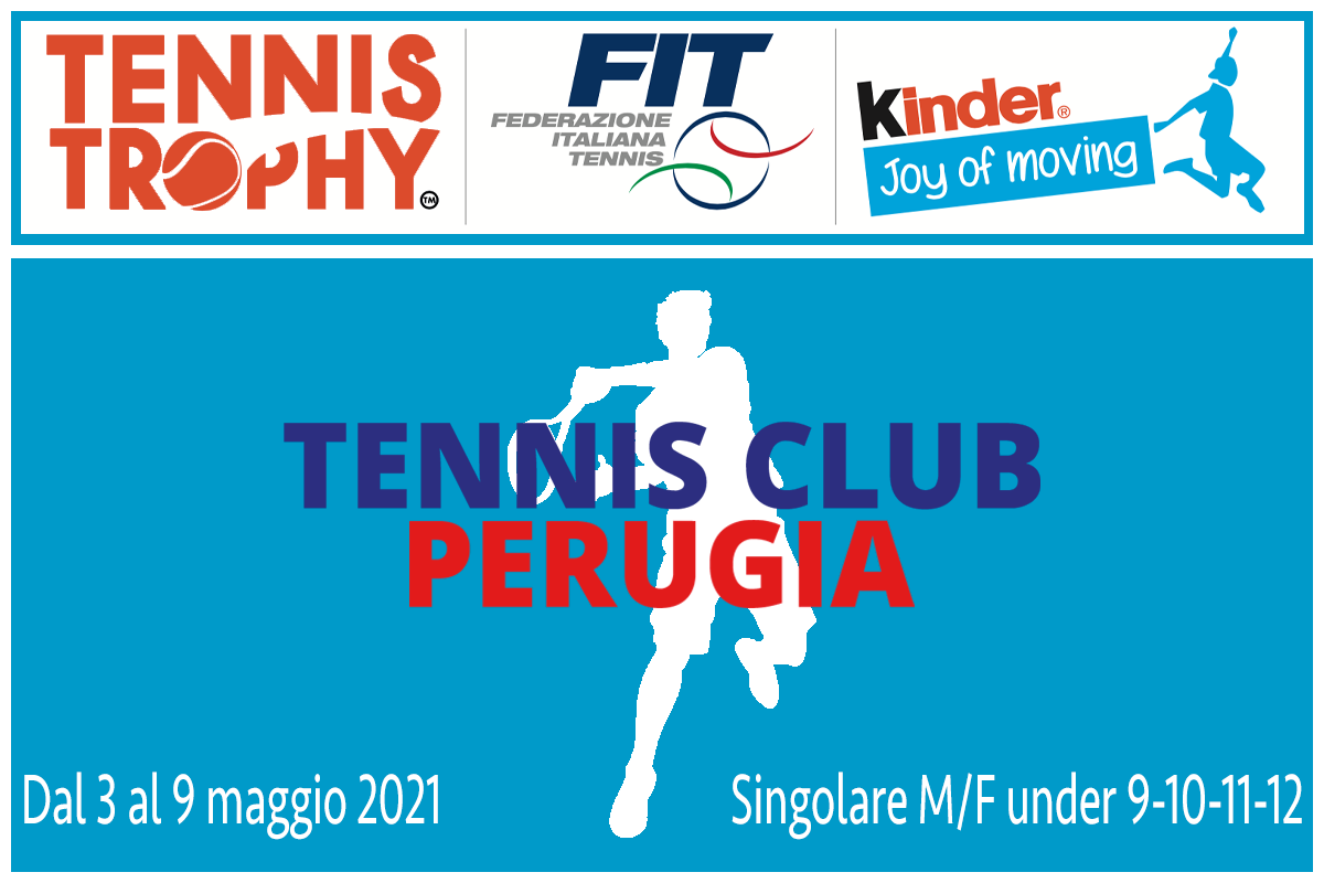 Tennis Trophy FIT Kinder Joy of Moving 2021 - Under 9-10-11-12 - copertina