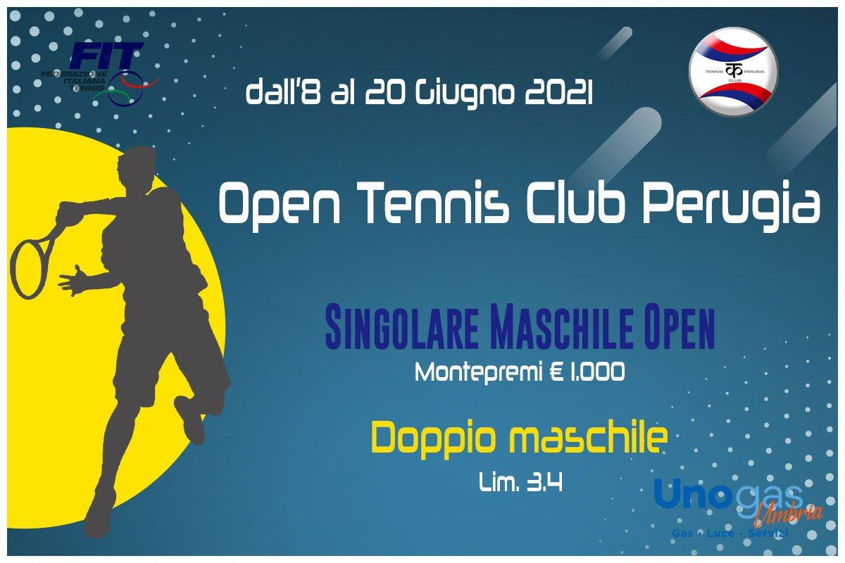 Open TC Perugia giugno 2021 copertina